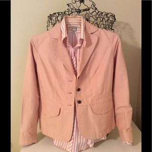 Ann Taylor Loft Peach 6 Petite Jacket